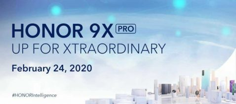 Lanzamiento global del Honor 9X Pro