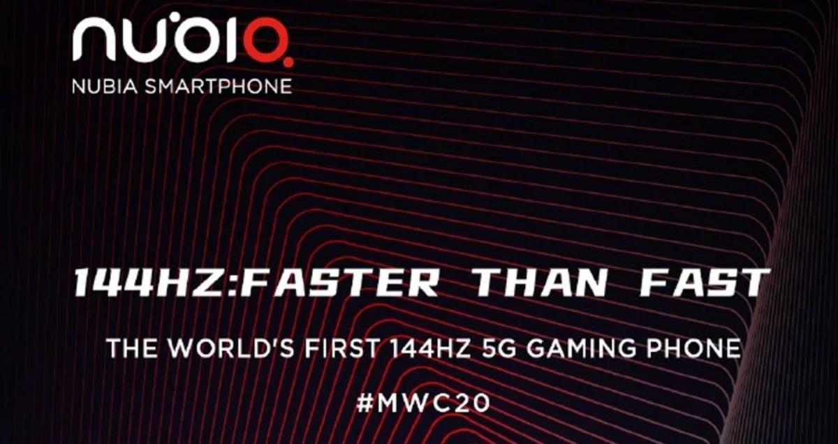 Lanzamiento del Nubia Red Magic 5G
