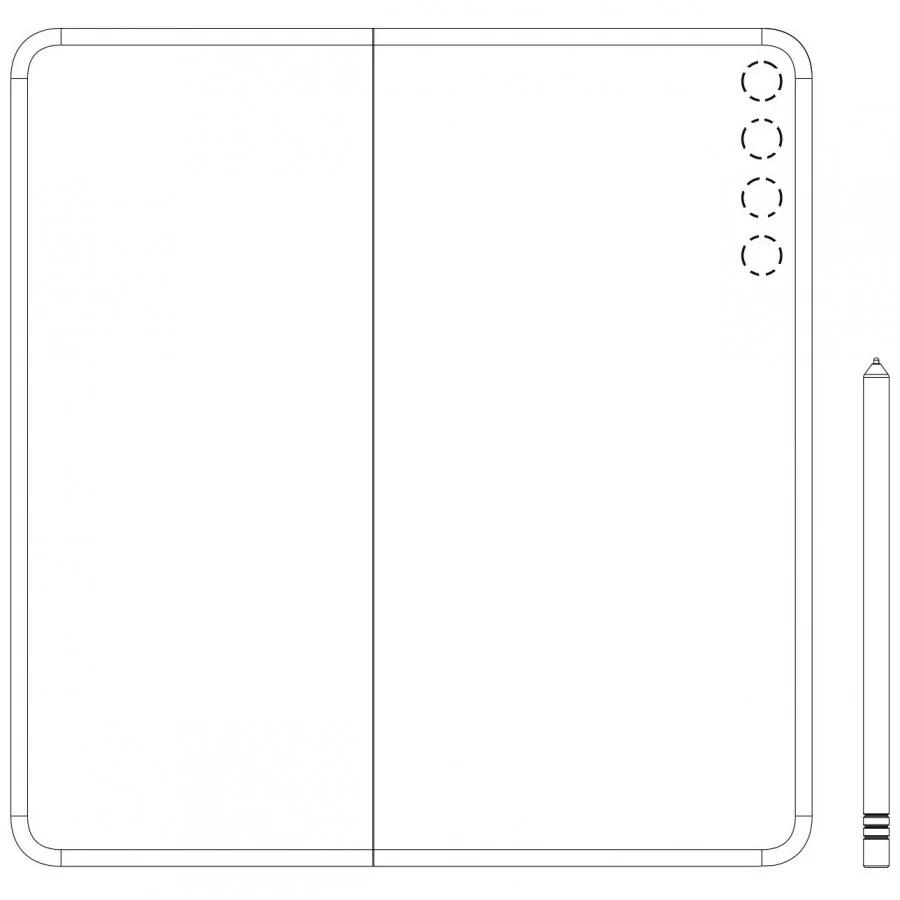Patente de Huawei® que podría pertenecer al Mate X2