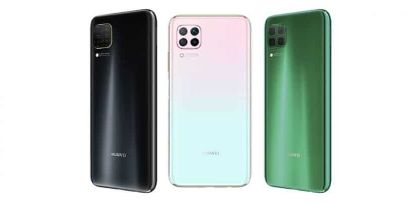 Versiones de color del Huawei P40 Lite