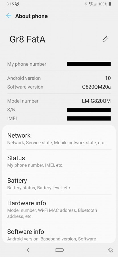 LG G8 ThinQ desbloqueado con Android 10 en Estados Unidos