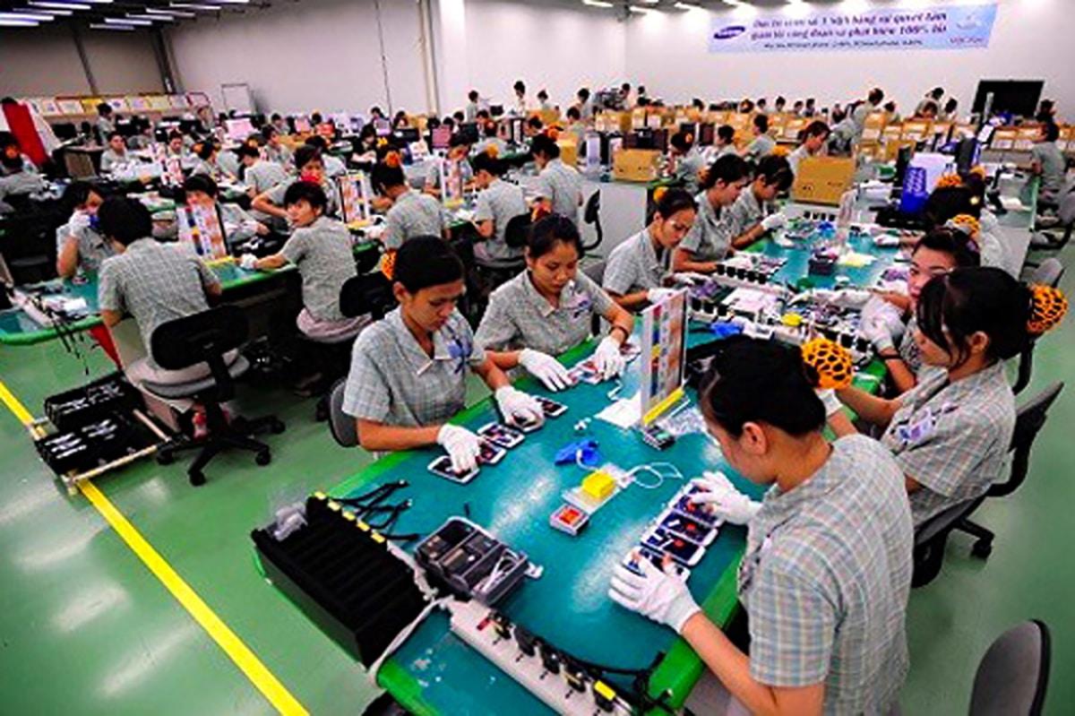 Samsung en Vietnam