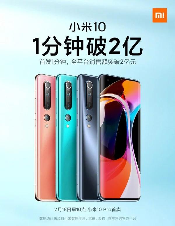 Segunda venta del Xiaomi Mi 10