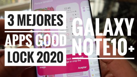 3 mejores apps GOOD LOCK 2020