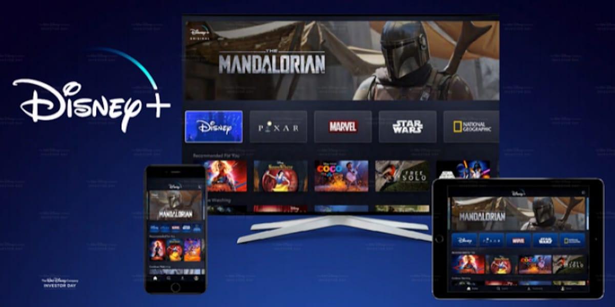 Disney + varias pantallas