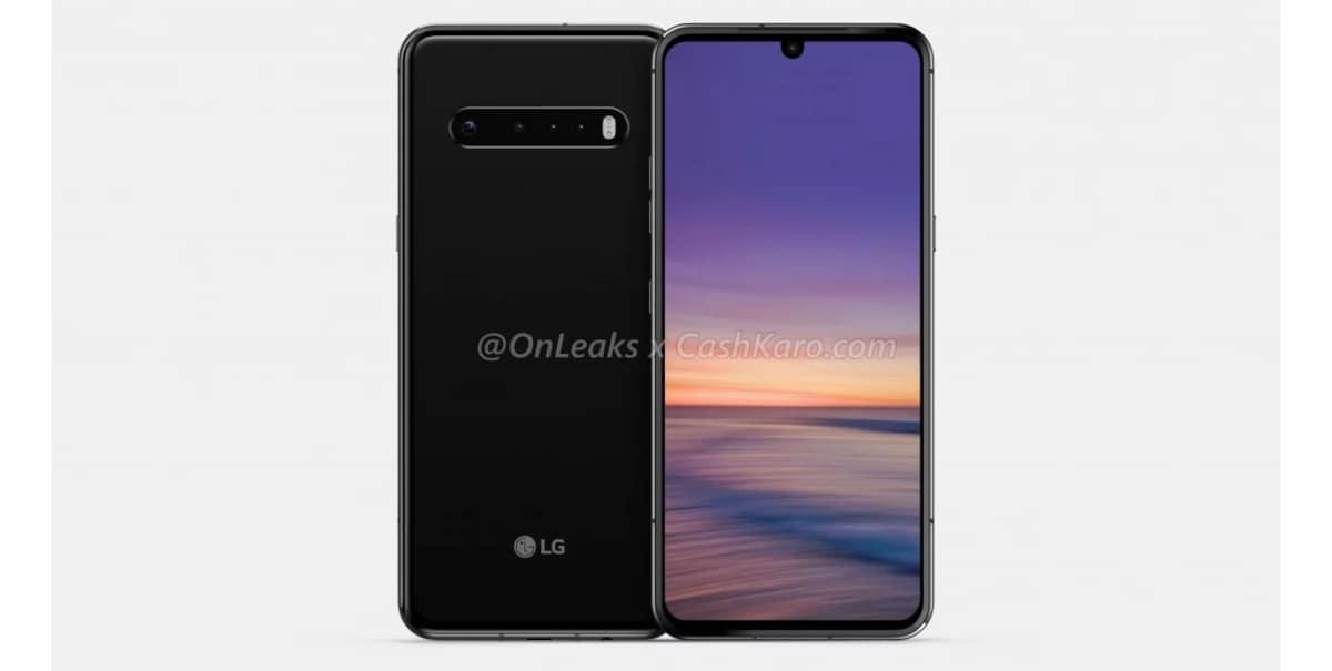 Render del LG G9 ThinQ