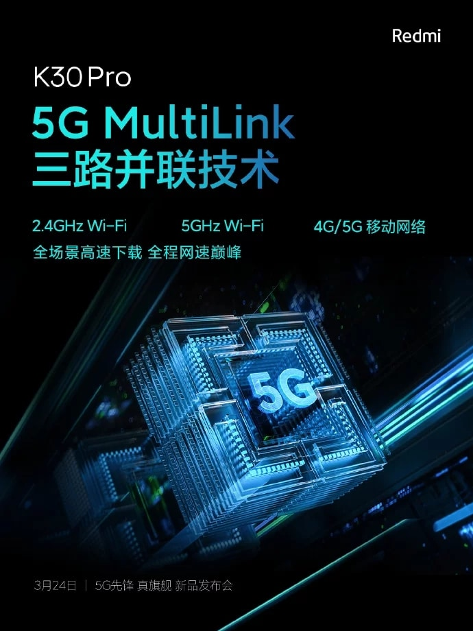 Redmi K30 Pro 5G MultiLink