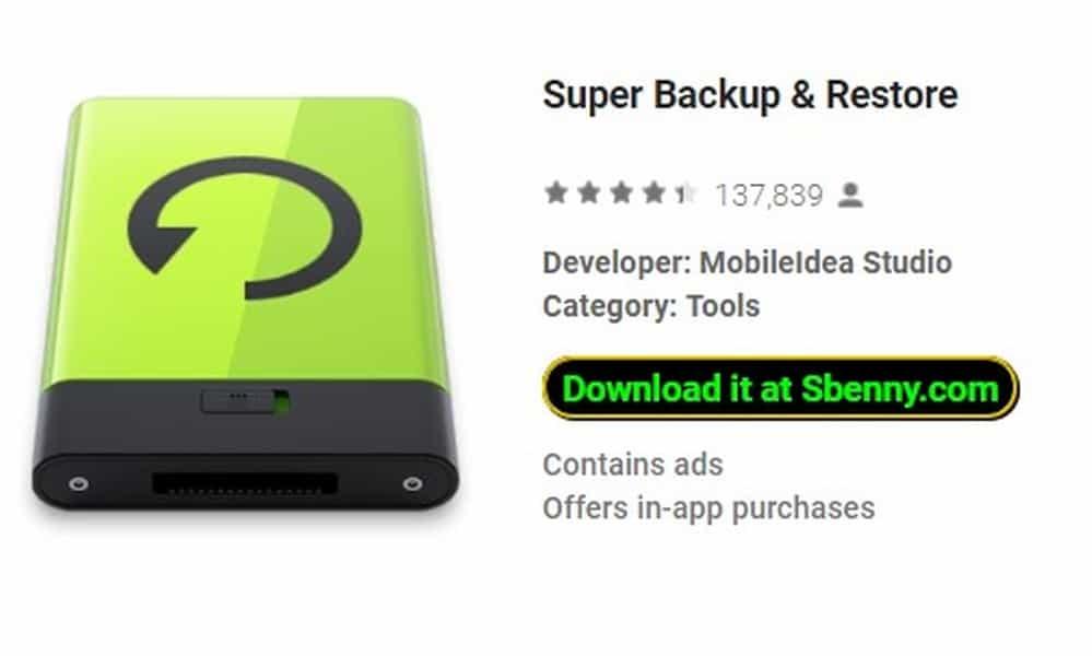 Super Backup