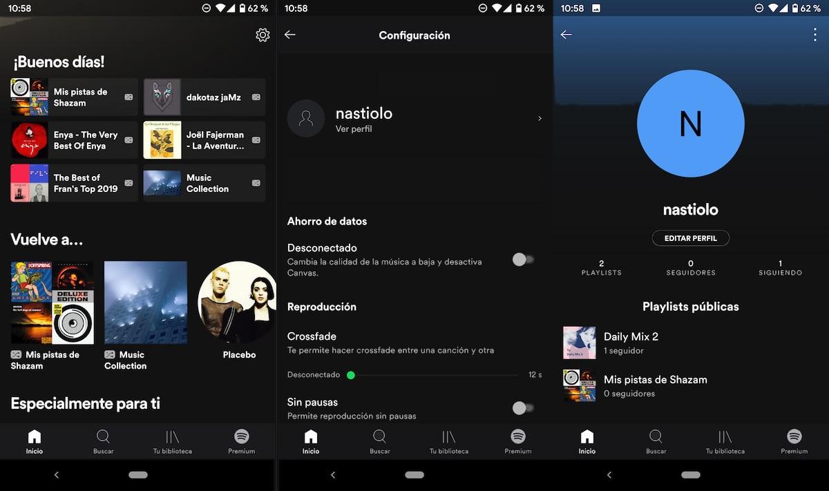 Cambiar la imagen de perfil en Spotify
