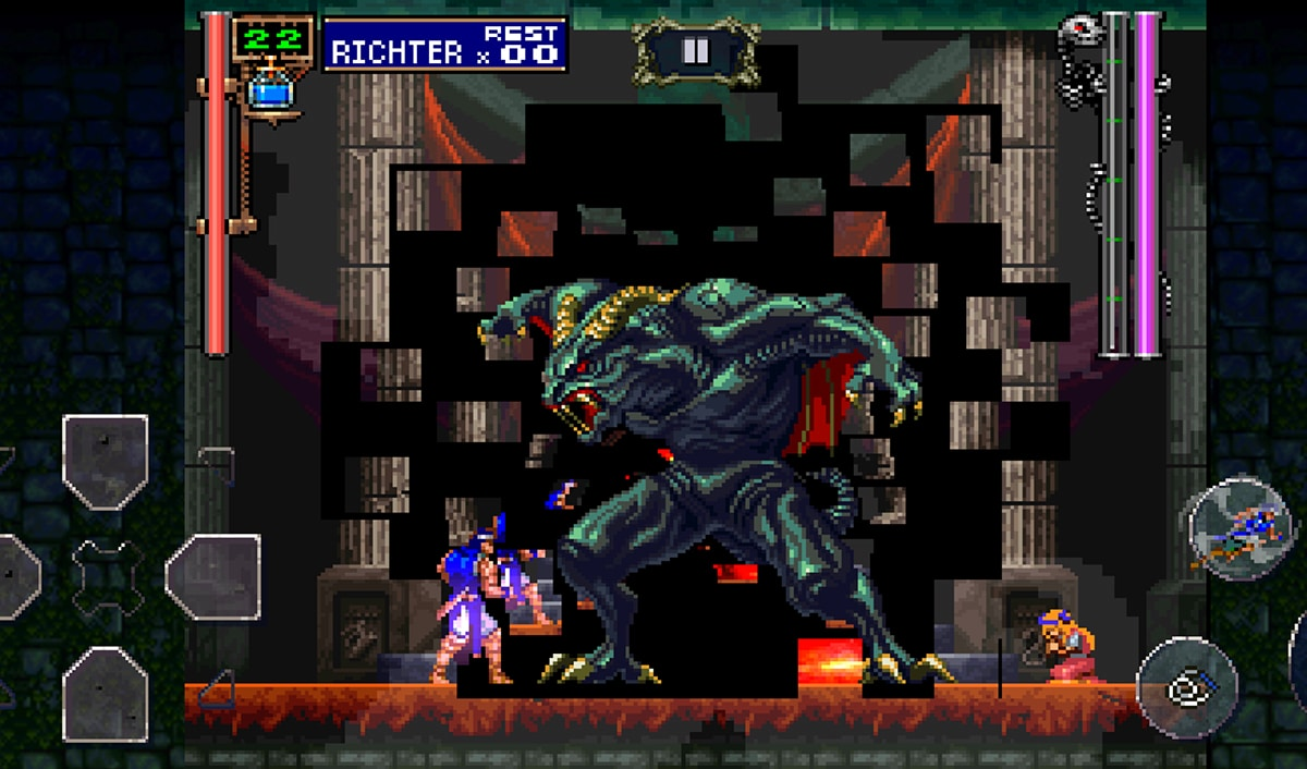 Castlevania: Symphony of the Night jefes finales
