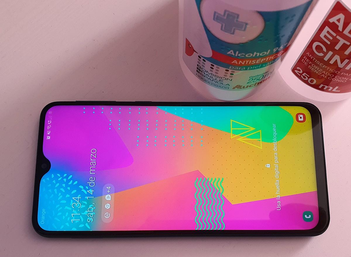 Cómo limpiar móvil Samsung
