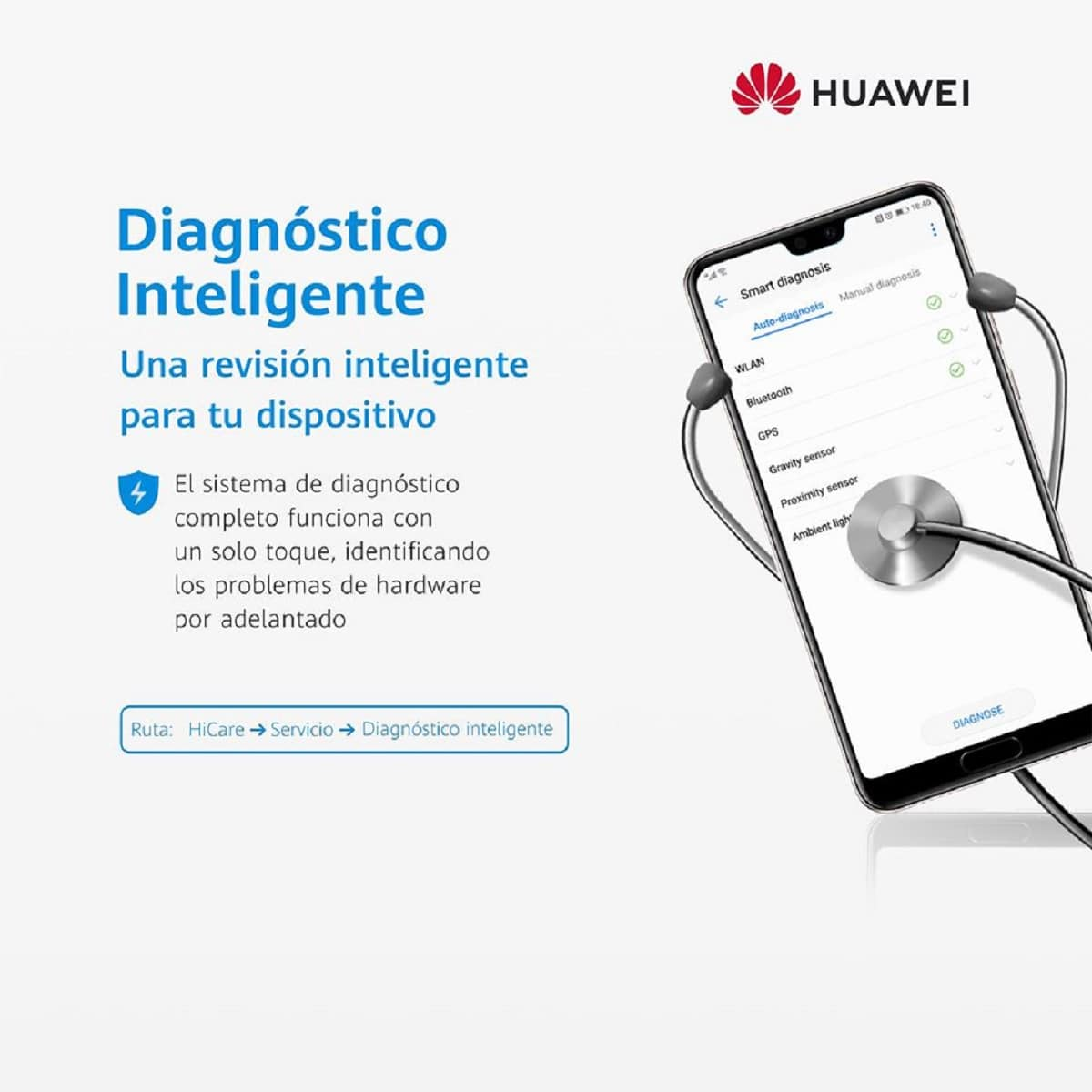 diagnostico inteligente huawei