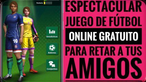 Un juego de fútbol para que te quites el mono y retes a tus amigos a partidas en tiempo real.