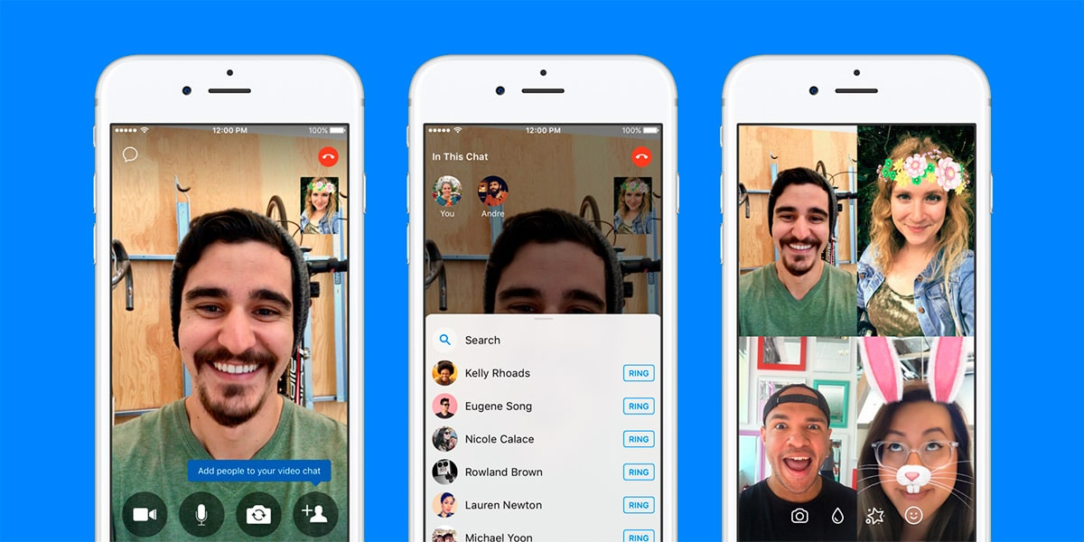 Facebook Messenger Videollamadas