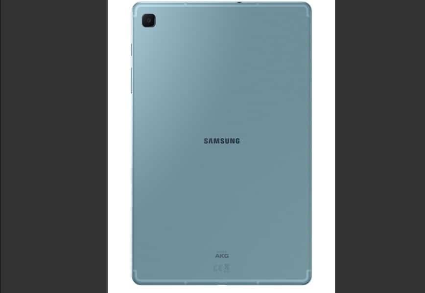 Samsung Galaxy Tab S6 Lite parte trasera