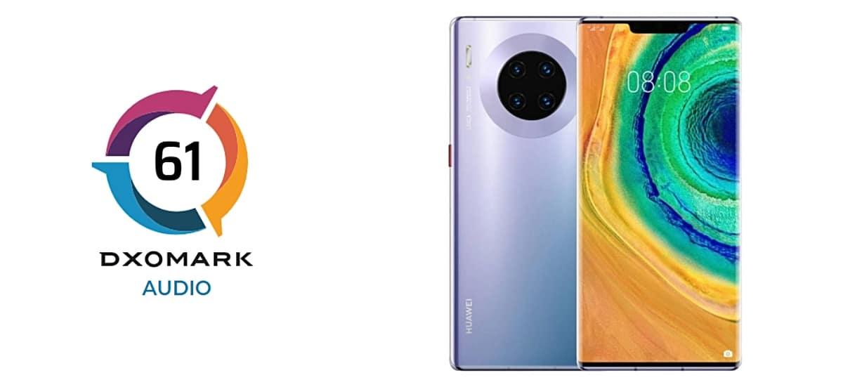 Pruebas de audio y sonido del Huawei Mate 30 Pro 5G en DxOMark