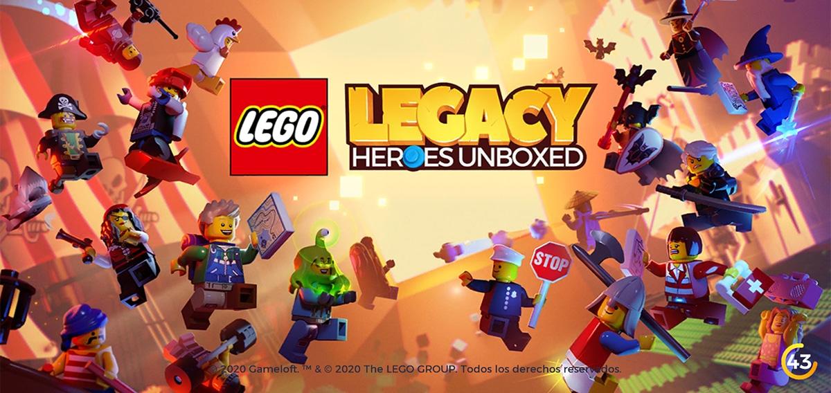 LEGO Legacy Heroes Liberados
