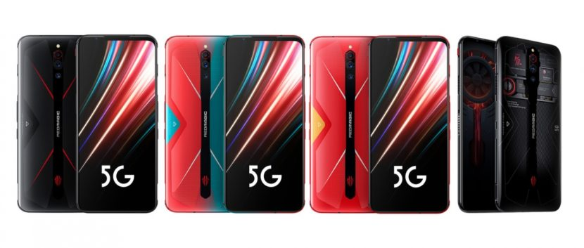 Versiones del Nubia Red Magic 5G
