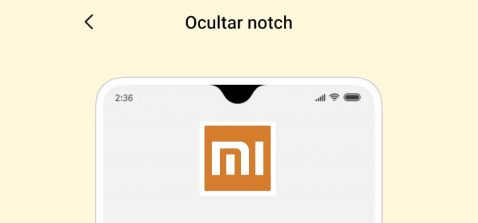 Ocultar notch en cualquier Xiaomi o Redmi