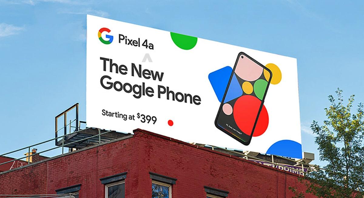 Pixel 4a precio