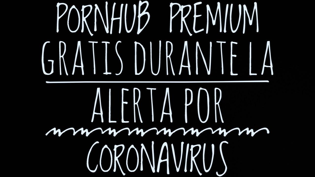 PornHub ofrece su contenido Premium mientras dure el estado de alerta por Coronavirus