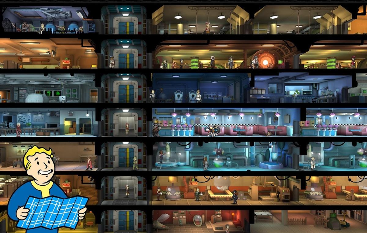 Refugio en Fallout Shelter Online