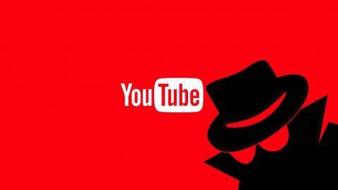 Modo incógnito de Youtube