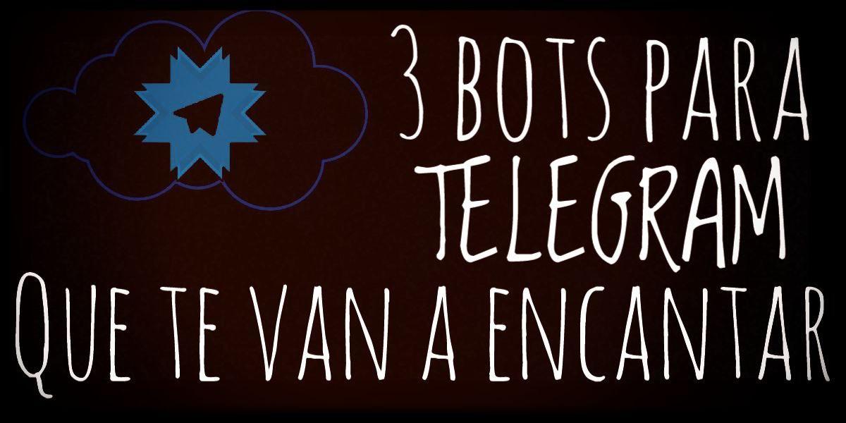 3 Bota para Telegram