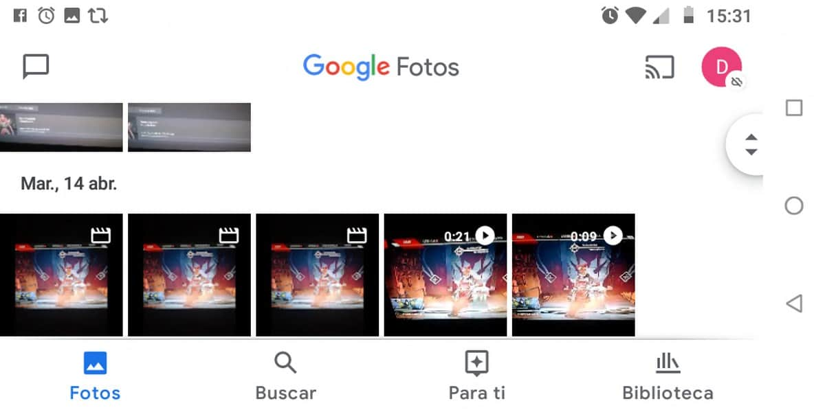 Google Fotos Dani
