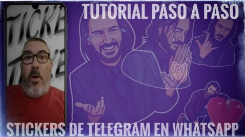 [Vídeo] Cómo usar tus Stickers de Telegram en WhatsApp