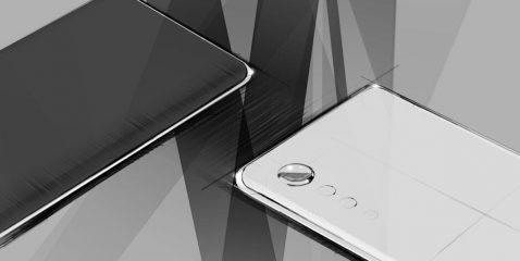 LG G9 diseño
