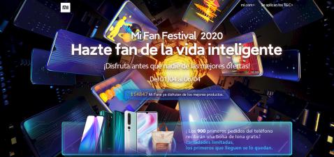 Mi Fan Festival web
