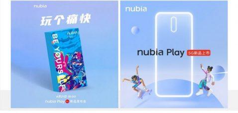 Nubia Play caja silueta