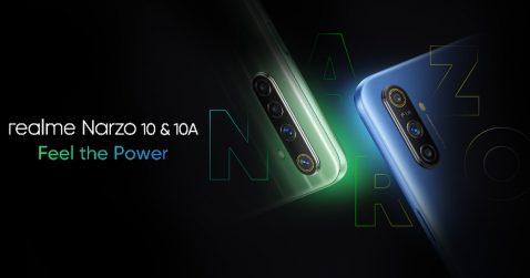 Lanzamiento anunciado del Realme Narzo 10 y 10A