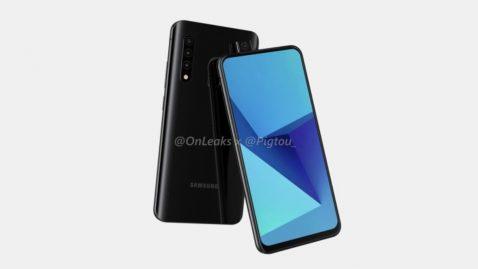 Primer móvil con cámara emergente de Samsung