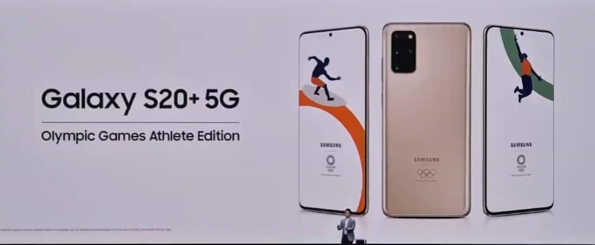 Edición olímpica del Galaxy S20 Plus