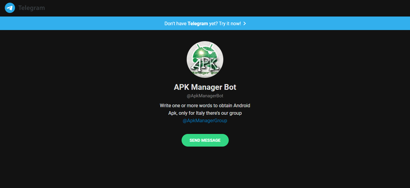 APK Manager Bot