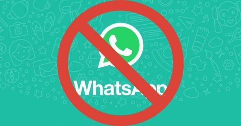 Bloquear contactos en WhatsApp