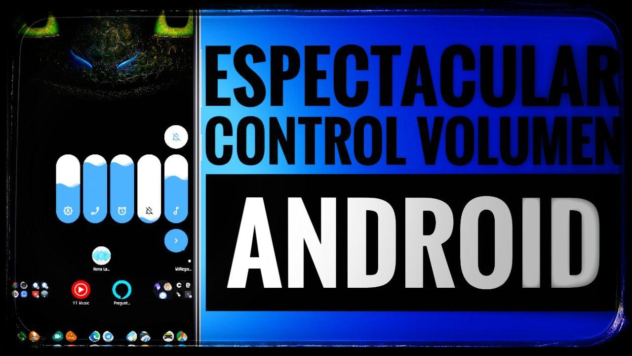 Control volumen Android