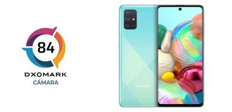 Galaxy A71 en DxOMark