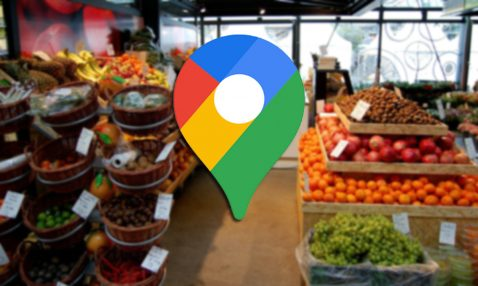 Google Maps reparto a domicilio