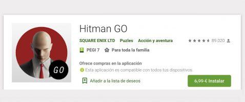 Hitman GO gratis