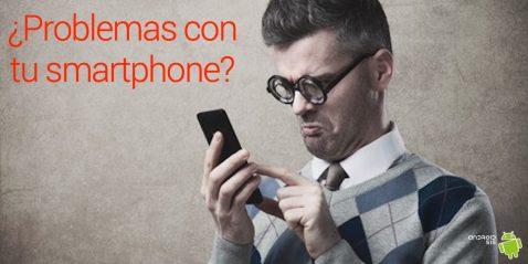 problemas con el smartphone