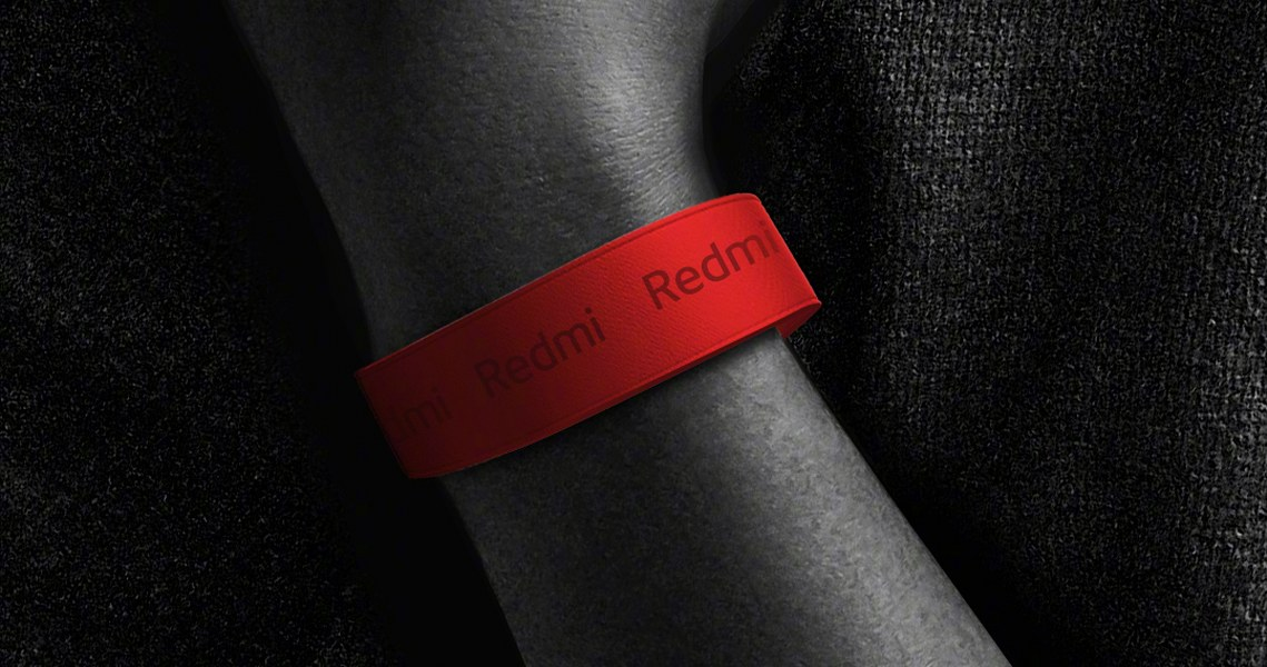 Redmi Band roja