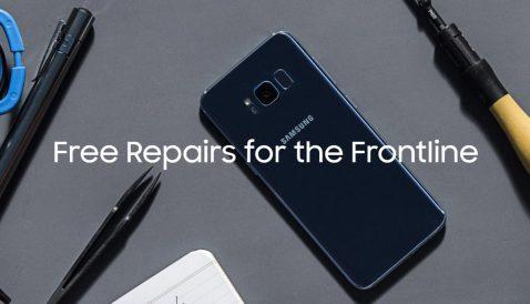 Samsung repara móviles