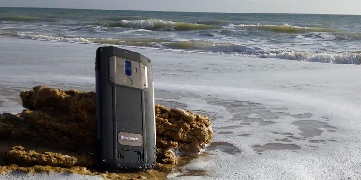 smartphone agua