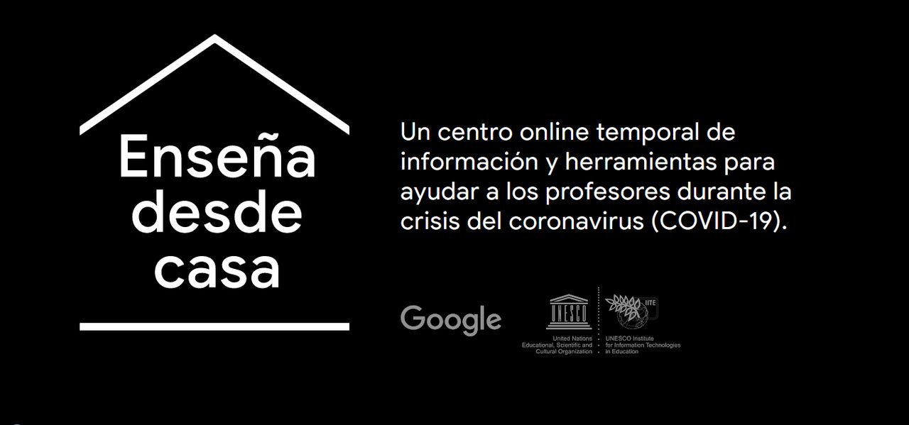 Consigue los mejores recursos educativos para enseñar desde casa gratis gracias a Google