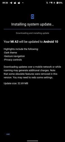 Nueva actualización de <stro />Android</strong>® 10(diez) para el Xiaomi Mi A3″ width=»231″ height=»500″ srcset=»https://www.androidsis.com/wp-content/uploads/2020/04/xiaomi-mi-a3-cuarta-actualizacion-android-10-231×500.jpg 231w, <a target=