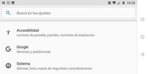 Gestiona Google Cuenta