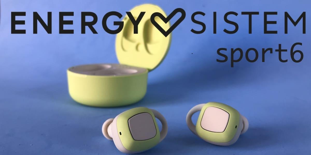 Energy Sistem sport 6 portada